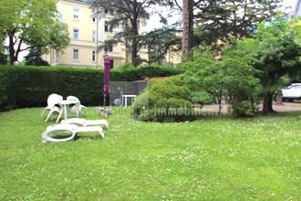MERAN: In historischer Villa, nahe Zentrum, 4-Zimmer-Wohnung mit Garten zu verkaufen