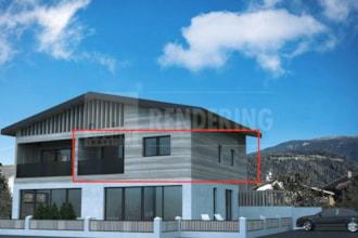 Exklusive Dreizimmerwohnung im ersten Obergeschoss in bester Lage in Olang zu verkaufen