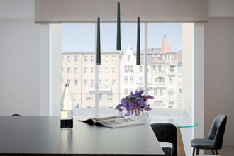 BOLZAN CENTER: Exquisite three-room penthouse apartment with roof terrace