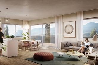 Neubau-Penthousewohnung mit Panoramaterrasse mitten in der Natur in Burgstall bei Meran
