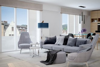BOLZANO CENTER: Unique four-room family apartment on the top floor with a huge roof terrace
