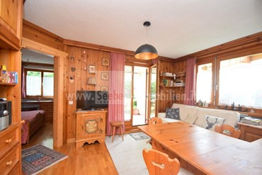 Living in the mountains on the edge of the forest in Alta Badia near the Gardenaccia