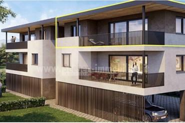 Neue sonnige 4-Zimmer-Wohnung im letzten Stock mit Garten und zwei Carports in ruhiger Lage in Burgstall zu verkaufen