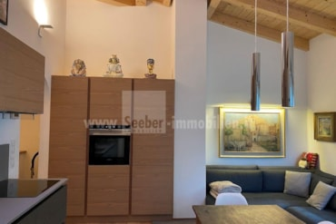Enchanting attic apartment on the Olang ski slope in Plan de Corones